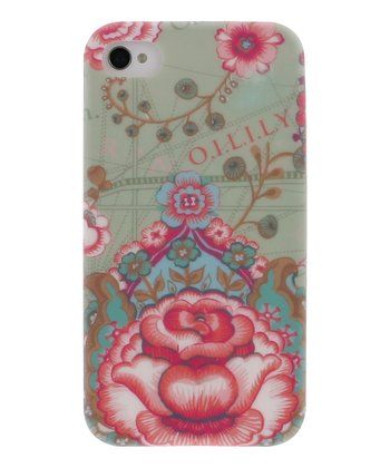 Green Fantasy Flora Case for iPhone 4/4S