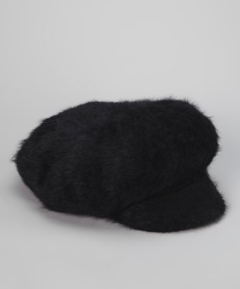 Black Belluna Newsboy Cap