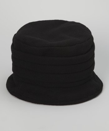 Black Snow Bucket Hat