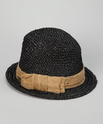 Black South Beach Fedora