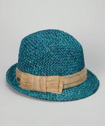 Turquoise South Beach Fedora