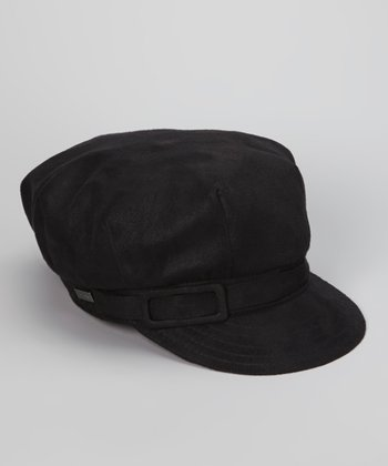 Black City Life Newsboy Cap