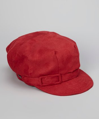 Red City Life Newsboy Cap