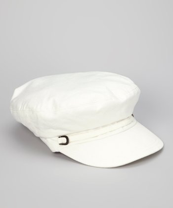 Ivory Nautical Cadet Cap