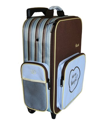 Blue Bandit Mini Roller Suitcase