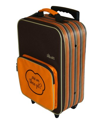 Orange Bandit Mini Roller Suitcase