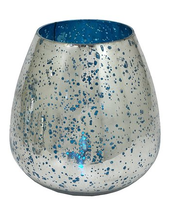 Mercury Glass 7'' Vase