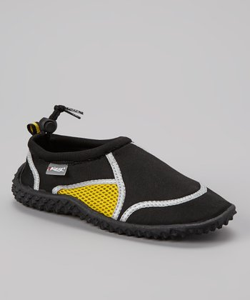Black & Yellow Water Shoe