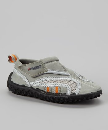 Gray Adjustable Water Shoe