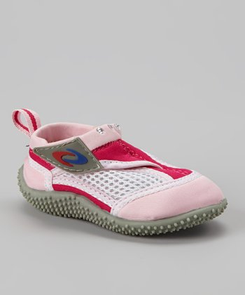 Pink & Fuchsia Adjustable Water Shoe