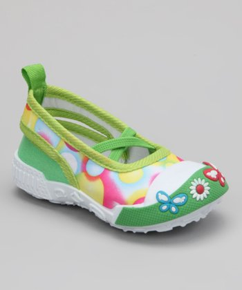 Green Bubble Slip-On Shoe