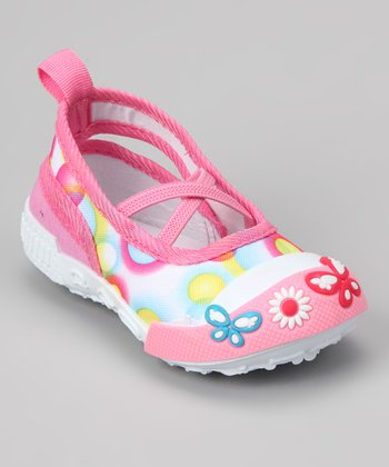 Pink Bubble Slip-On Shoe