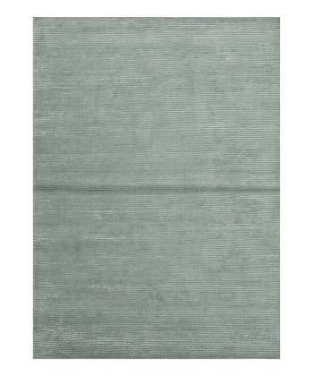 Blue & Gray Basis Wool-Blend Rug