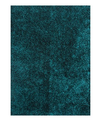 Blue Flux Shag Rug