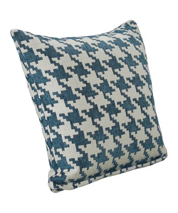 Cream & Blue Heeler Throw Pillow
