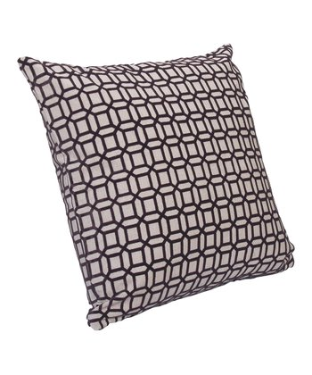 Oatmeal & Gray Bottega Throw Pillow