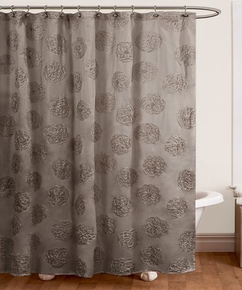 Gray Samantha Shower Curtain
