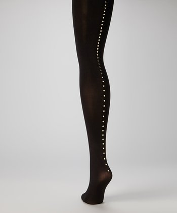 Black Nailhead Tights