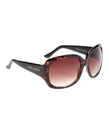 Tortoise Black Square Sunglasses