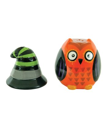 Witch All Owl's Eve Salt & Pepper Shakers