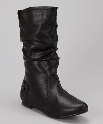 Black Tall Boot