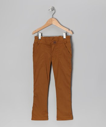 Chino Twig Trouser Pants - Toddler & Girls