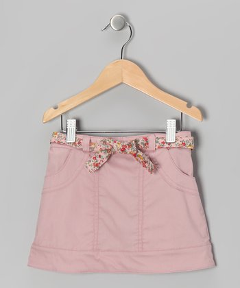 Dusty Rose Gumdrop Skirt - Toddler & Girls