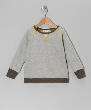 Gray Hansel Top - Toddler