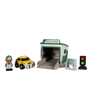 Gas Station Go Go City Play Set