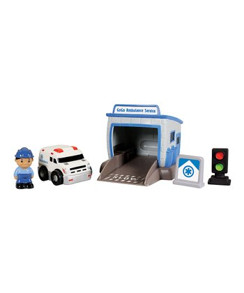 Ambulance Service Go Go City Play Set