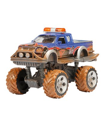 Blue Mud Monster Die-Cast Truck