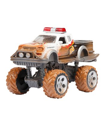 White Mud Monster Die-Cast Truck