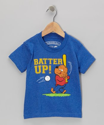 Blue 'Batter Up' Tee - Toddler