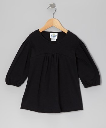 Black Tunic - Toddler & Girls
