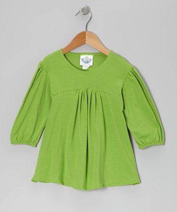 Lime Tunic - Toddler & Girls