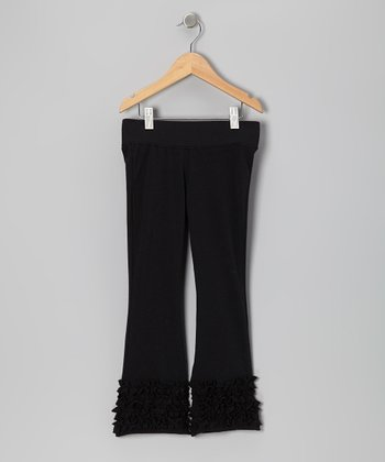 Black Flare Pants - Toddler & Girls