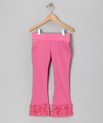 Pink Flare Pants - Infant, Toddler & Girls