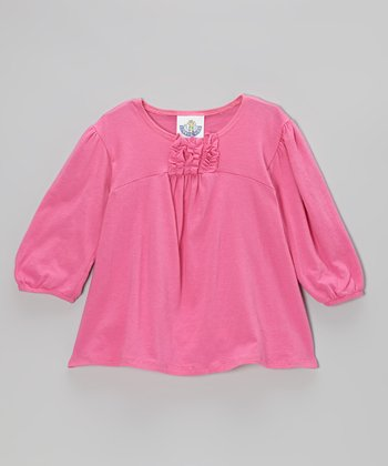 Pink Babydoll Tee - Infant, Toddler & Girls