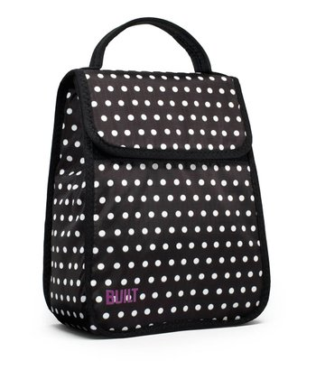 Black & White Mini Dot Essential Lunch Tote