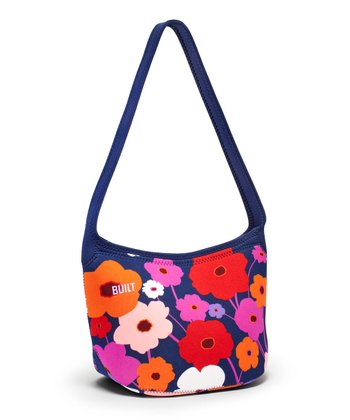 Lush Flower Hobo Shoulder Lunch Tote