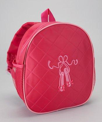 Seesaws & Slides Hot Pink Ballet Shoe Backpack