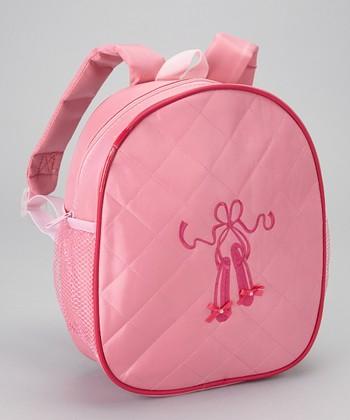 Seesaws & Slides Pink Ballet Shoe Backpack