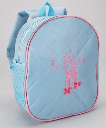 Seesaws & Slides Blue Ballet Shoe Backpack