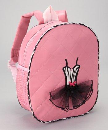 Seesaws & Slides Pink Zebra Ballet Tutu Backpack