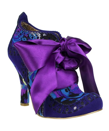 Blue Floral Abigail's Party Bootie