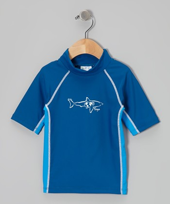 Sky & Water Short-Sleeve Rashguard - Infant, Toddler & Boys