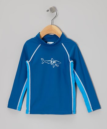 Sky & Water Long-Sleeve Rashguard - Infant, Toddler & Boys