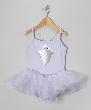 Lavender Ghost Tutu Leotard - Toddler & Girls