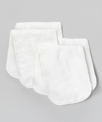 White Pocket Diaper Inserts - Set of Four