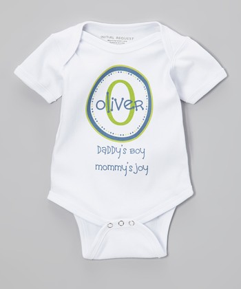 Blue 'Daddy's Boy' Personalized Bodysuit - Infant